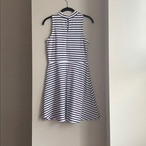 Old Navy Dresses - Black and White Sleeveless Fit and Flare Dress